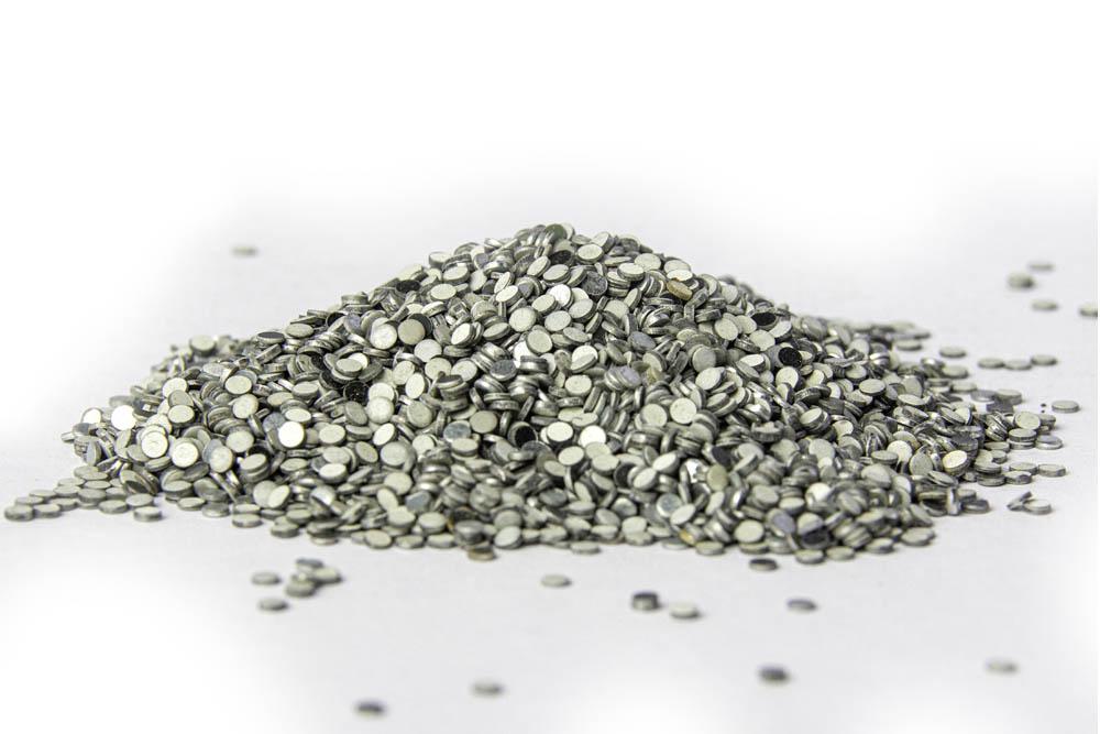 Lochkappen aus Ballaststahl, vorverpackt Im  polypropylenbeutel